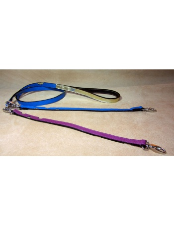 """Twin Peaks Coupler"" Dog Leather Lead - Coupler"