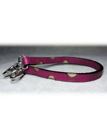 """Twin Spots Extender"" Dog Leather Lead - Extender"