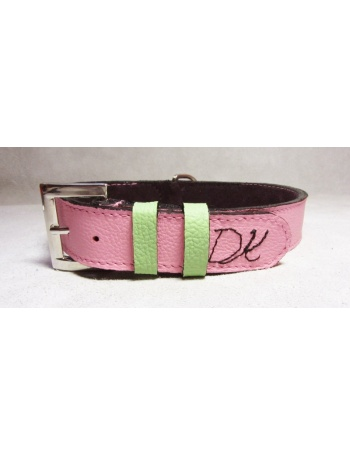 """ The Beautiful Beast "" - Hand Made Dog leather collar"