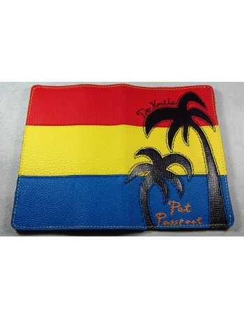 """Palm beach"" - Unique Pet Passport Cover"