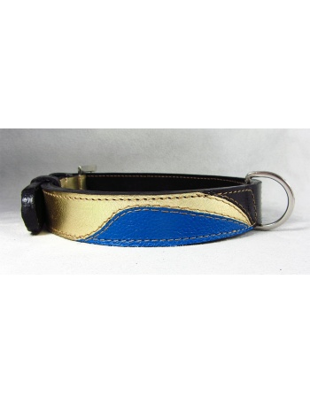 """Cleopatra"" - Unique dog leather collar"