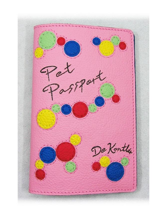 """"""" Bubbles Explosion """" - Cute pet leather passport cover"""