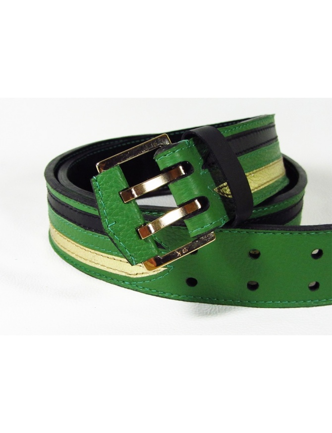 """Open your mind"" - Unique men leather belt"