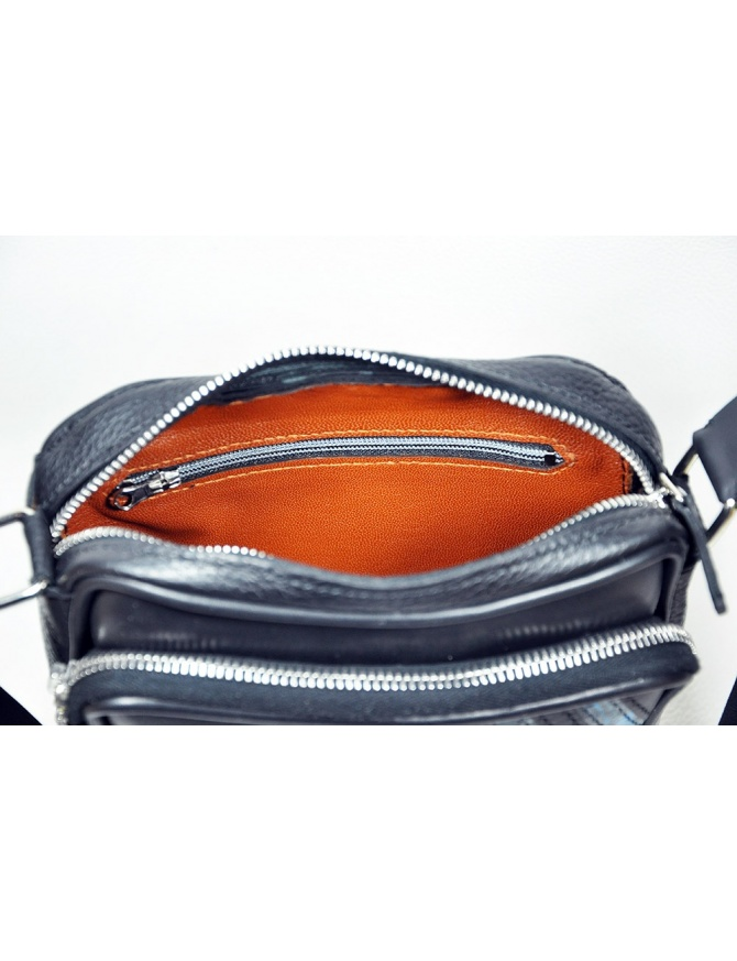 "Leather men bag ""Kraken"""