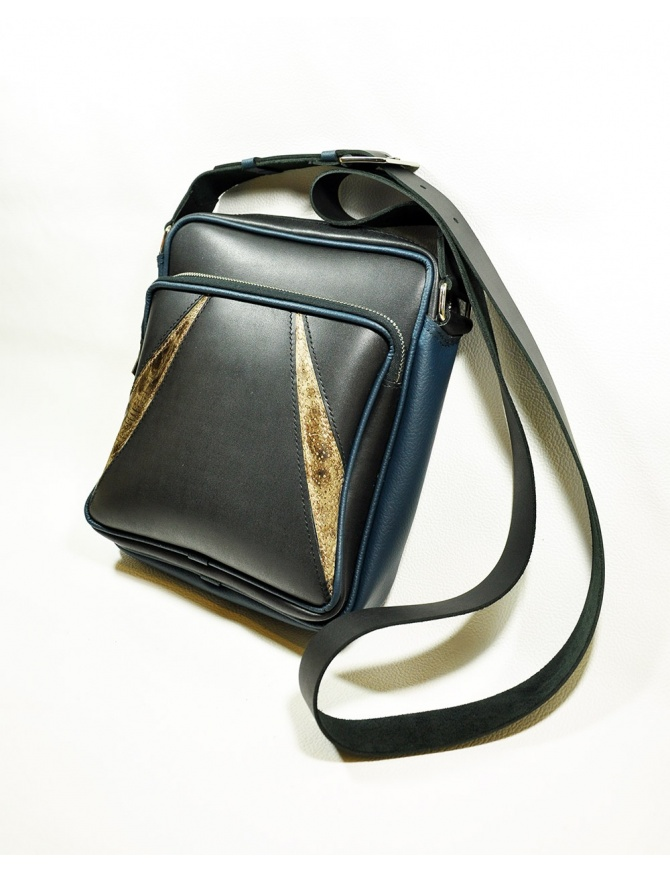 "Men leather bag ""Jaws"""