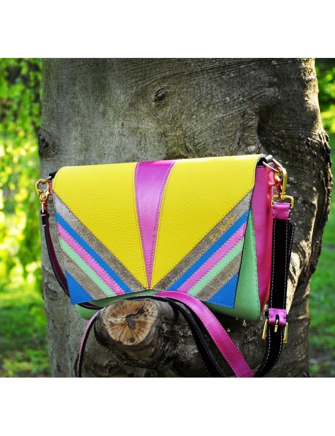 """Ročno izdelana usnjena ženska torbica """"Fashion freak"""""""