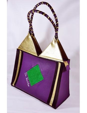 "Unique women leather bag - ""Diva"""